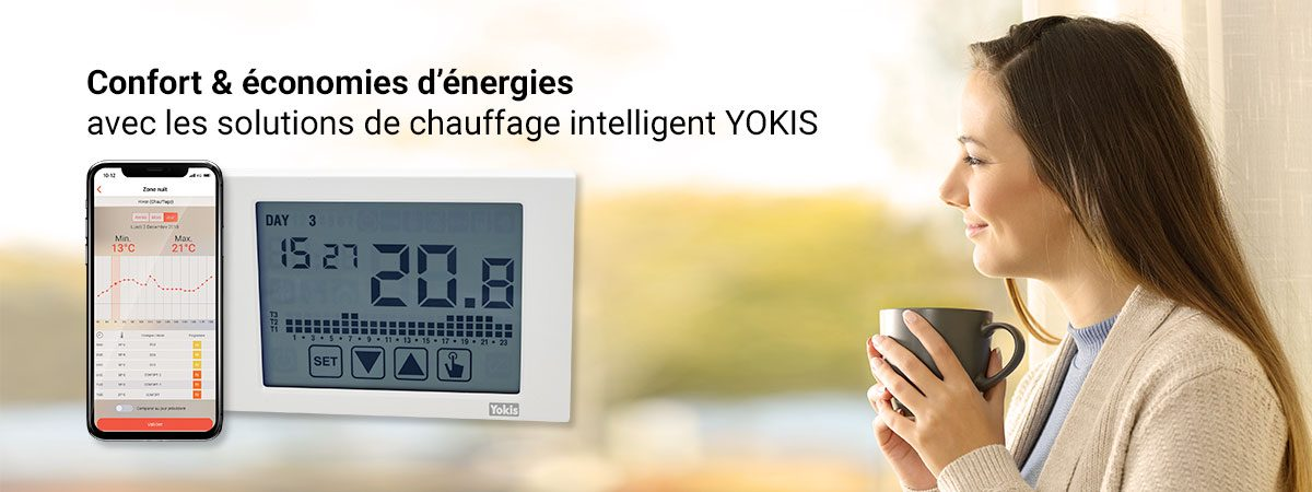 Le Chauffage connecté YOKIS