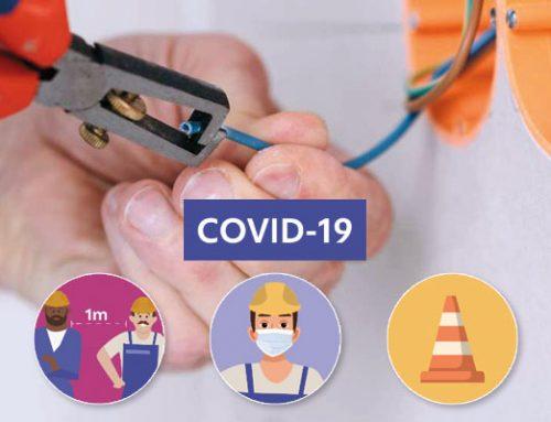 Préconisations sanitaires pour les électriciens – COVID19