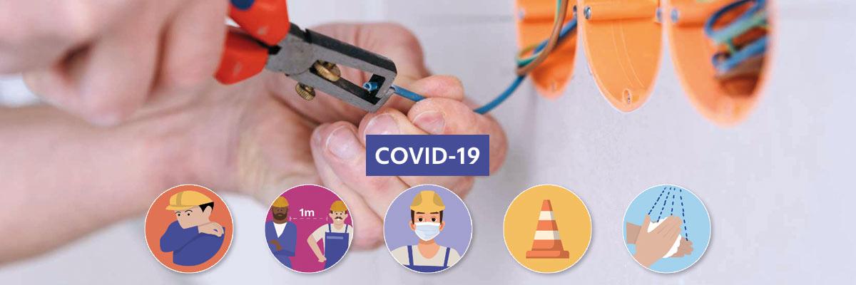 Fiche sécurité électricien Covid