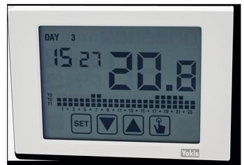 YnO : pilotez et gérez simplement votre chauffage chaudière grâce au thermostat connecté Yokis