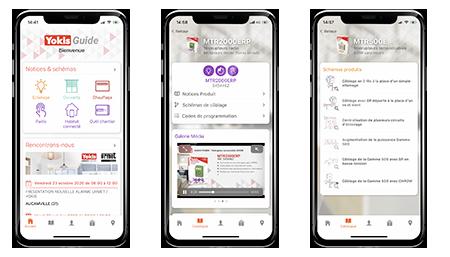 Yokis Guide disponible sur Android et Apple
