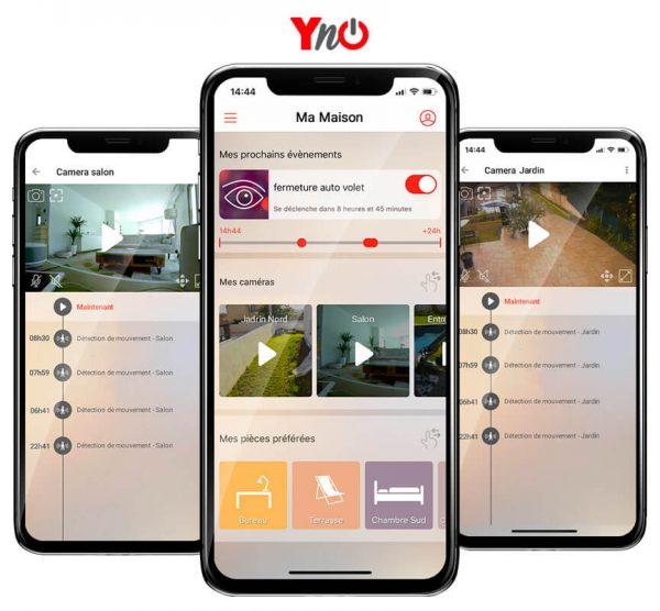 Yokis YnO : sécurisez votre logement grâce aux caméras wifi Urmet