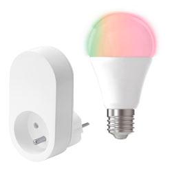 Prise et ampoule connectées grand public