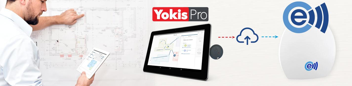 YOKIS PRO et Econnect pour réaliser vos chantiers multi marques